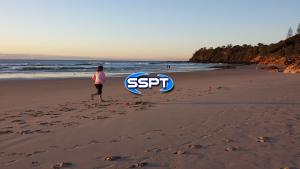 SSPT Beautiful morning fitness on Coolum Beach