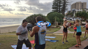 SSPT Training at Coolum Beach
